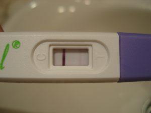 Prueba de embarazo casera